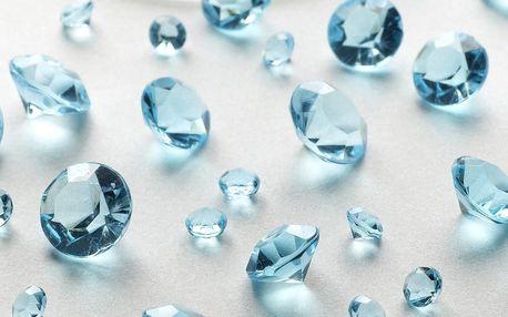 Světle modré dekorativní krystaly Neviti Party, 100 g