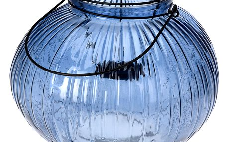 Skleněná dekorační lucerna, svícen Home Styling Collection
