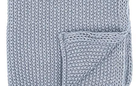 Bloomingville Bavlněná utěrka Blue - set 3ks, modrá barva, textil