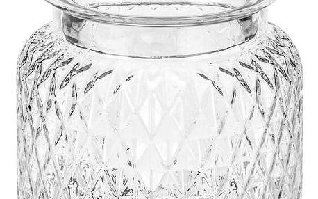 producent niezdefiniowany Dekorační skleněná nádoba na přechovávání, 1700 ml EMAKO