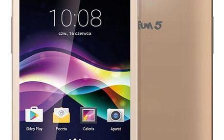 myPhone Smartphone FUN 5 DUAL SIM ZLATÝ