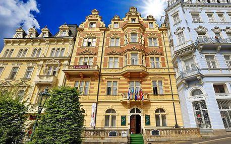 Karlovy Vary ve 4* hotelu s wellness procedurami, vstupem do bazénového komplexu, balíčkem slev a snídaní