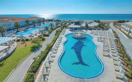 Sandy Beach Resort - hotelový komplex s bazény,tobogány při písečnaté pláži