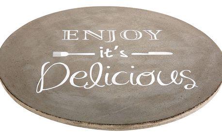 EH Excellent Houseware Prkénko pro servírování jídel, pizzy, sýrů, předkrmů XXL