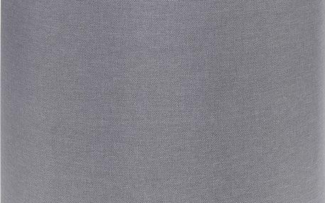 Taburet, sedátko, opěrka nohou, šedá barva - 35 x 35 cm Home Styling Collection