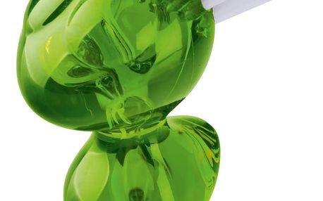 Kartáček na čištění zeleniny, olivová barva, KOZIOL
