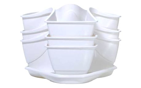 Prosperplast Coubi 29,5 x 29,5 x 38 cm (DKN3003-S449) bílý