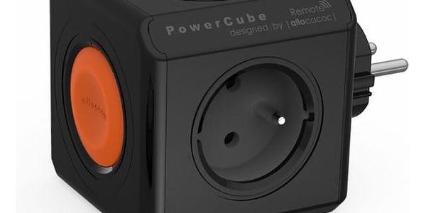 Zásuvka Powercube Original Remote, 4x zásuvka černá