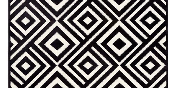 Černobílý koberec Zala LivingArt,160x230cm