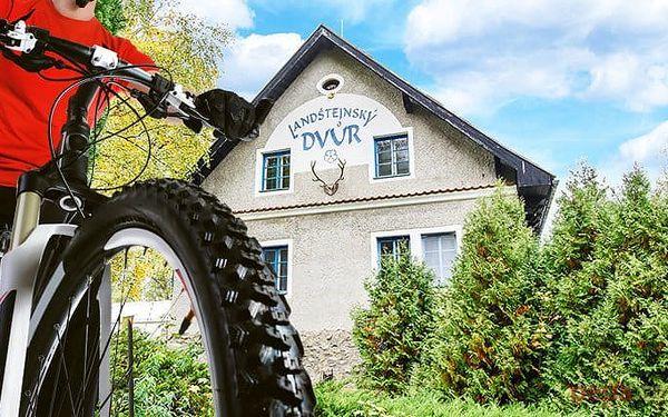3–8denní pobyt pro 2 s možností polopenze v hotelu Landštejnský dvůr*** v jižních Čechách