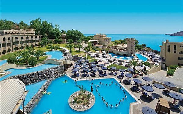 Lindos Royal - skvělý all inclusive resort s atrakcemi pro děti i dospělé