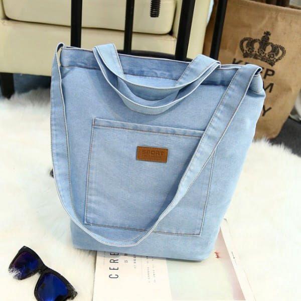 Džínová taška přes rameno - 2 barvy