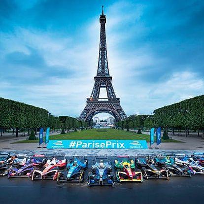 Zájezd na Formuli E a prohlídka Paříže v termínu 27-30.4.2018