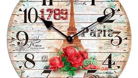 Nástěnné hodiny Ancien, 34 cm