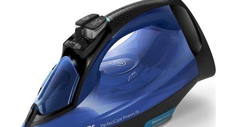 Žehlička Philips PerfectCare PowerLife GC3920/20 modrá
