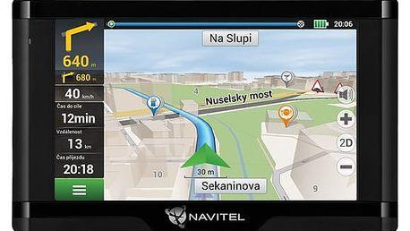 Navigační systém GPS Navitel E500 Magnetic, Lifetime černá (C2047039)