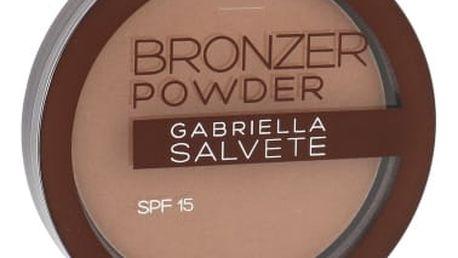 Gabriella Salvete Bronzer Powder SPF15 8 g pudr pro ženy 02