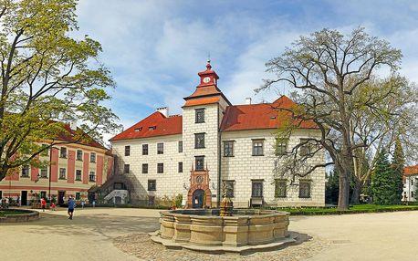 Odpočinek v Třeboni: vstup do lázní a polopenze