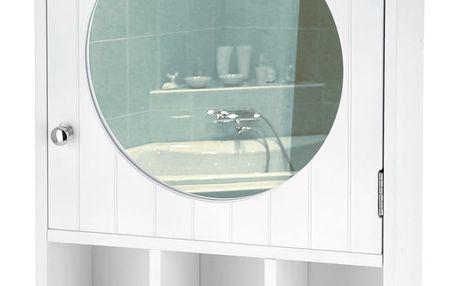 Skříňka koupelnová, zrcadlo Emako