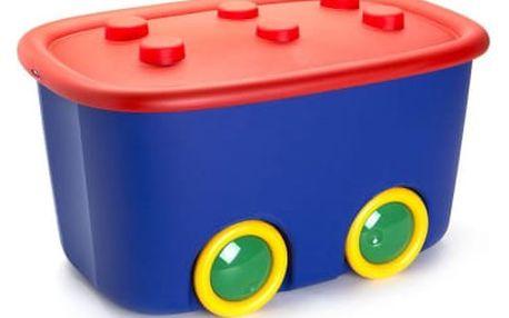 KIS Funny Box L - 46l červeno-modrý