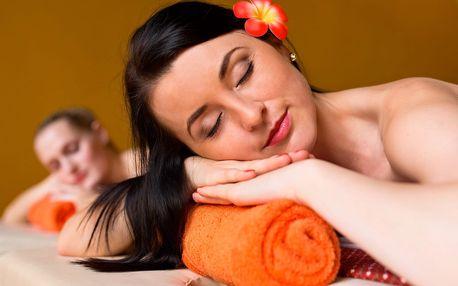 Hodinová olejová masáž v thajském salonu pro 2