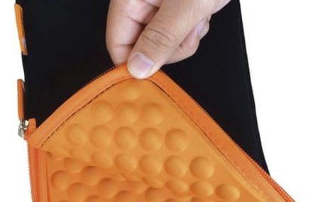 """Pouzdro na tablet GoGEN TA7CASEO pro 7"""" s bublinkami černé/oranžové (GOGTA7CASEO)"""