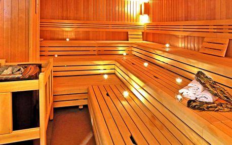 Časově neomezený vstup do saunového světa Saunia