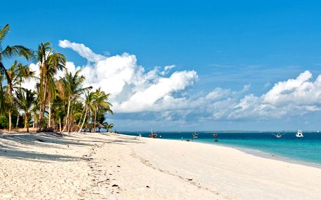 Exotická dovolená na Zanzibaru s plnou penzí