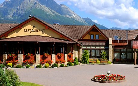 Hotel Amalia *** pod Tatrami s polopenzí a wellness