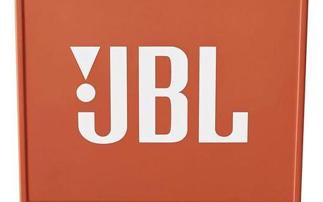 Přenosný reproduktor JBL GO oranžový