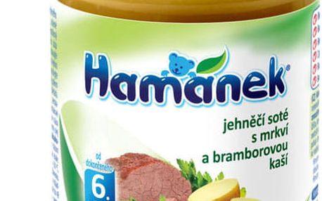 6x HAMÁNEK Jehněčí soté s mrkví a bramborovou kaší (190 g) - maso-zeleninový příkrm