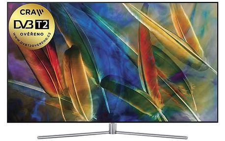 Televize Samsung QE65Q7F stříbrná