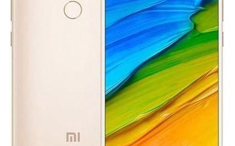 Mobilní telefon Xiaomi Redmi 5 Plus 32 GB (17836) zlatý Software F-Secure SAFE, 3 zařízení / 6 měsíců v hodnotě 979 Kč + DOPRAVA ZDARMA