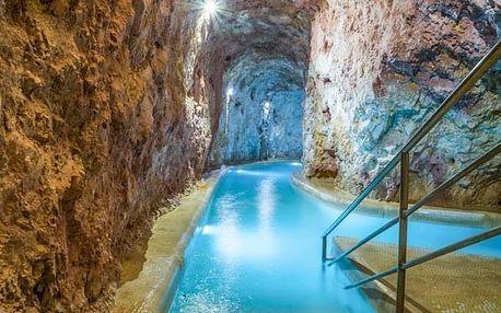 Miskolc Tapolca: jeskynní lázně a wellness