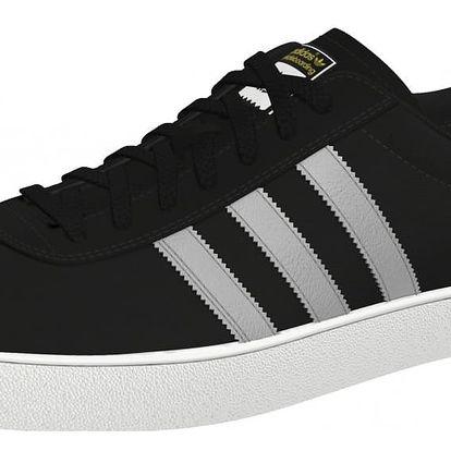Boty Adidas Skate ADV black-silver-white 44