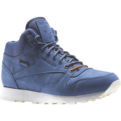 Boty Reebok Classic Leather Mid Goretex royal slate-paperwhite-beach stone 45
