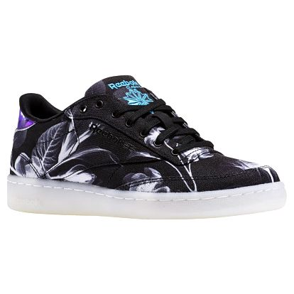 Boty Reebok Club C 85 Xray black-white-wild blue 38