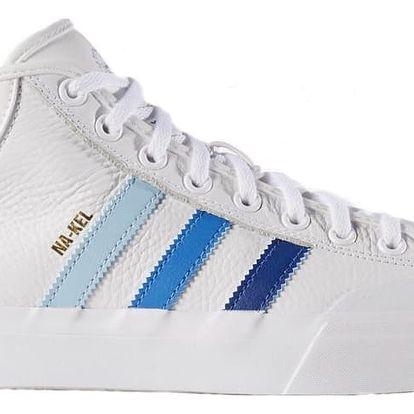 Boty Adidas Matchcourt Mid ftwwht-croyal-blubir 43 1/3