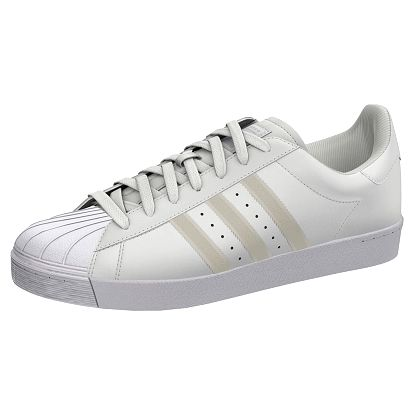 Boty Adidas Superstar Vulc white-silver 46 2/3