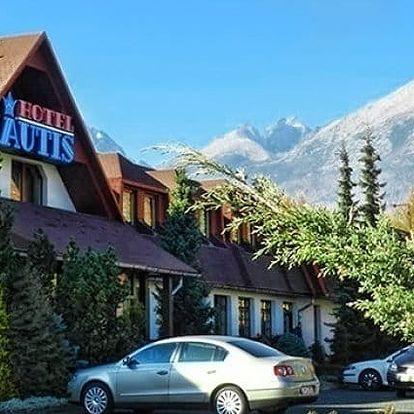 3 až 6denní wellness pobyt pro 2 v hotelu Autis*** ve Vysokých Tatrách