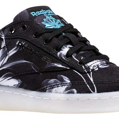 Boty Reebok Club C 85 Xray black-white-wild blue 40
