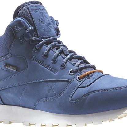 Boty Reebok Classic Leather Mid Goretex royal slate-paperwhite-beach stone 44