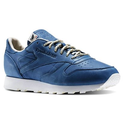 Boty Reebok CL Leather Eco botanical blue-chalk 43