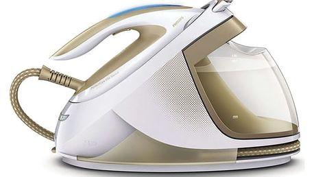 Žehlicí systém Philips PerfectCare Elite GC9640/60 bílá/zlatá