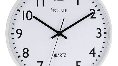 Nástěnné hodiny, kulaté, Ø 38 cm Segnale