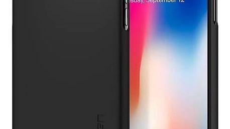 Spigen Thin Fit Apple iPhone X (HOUAPIPXSPBK3) černý