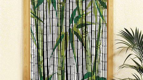 Bambusový závěs Bambus, 90x200 cm, WENKO
