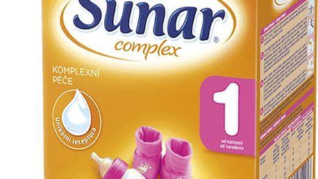 6x SUNAR Complex 1 (600 g) – kojenecké mléko