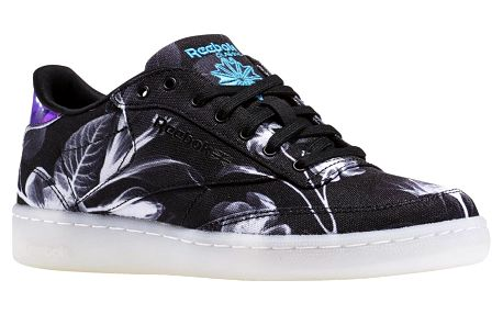 Boty Reebok Club C 85 Xray black-white-wild blue 37