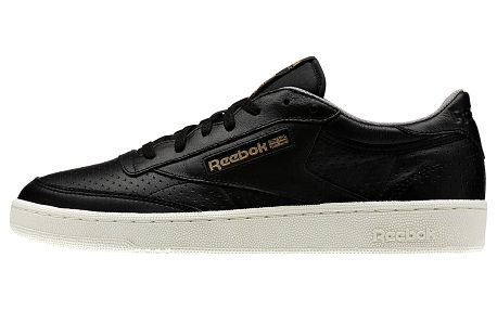 Boty Reebok Club C 85 Perf black-beach stone-chalk 43